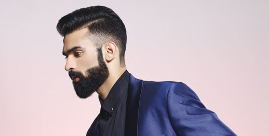 Haircut with Beard Style - Looks Salon